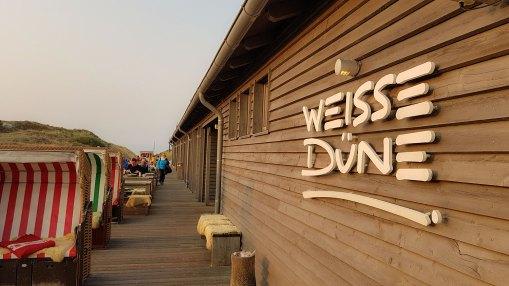 Norderney, Restaurant Weisse Düne