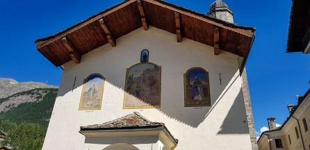 Kirche in Cogne