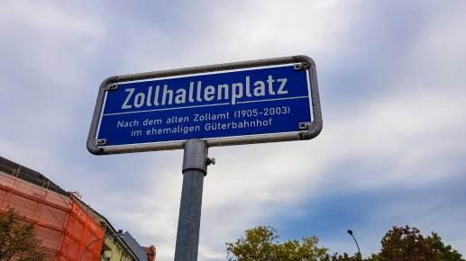 Zollhallenplatz Freiburg