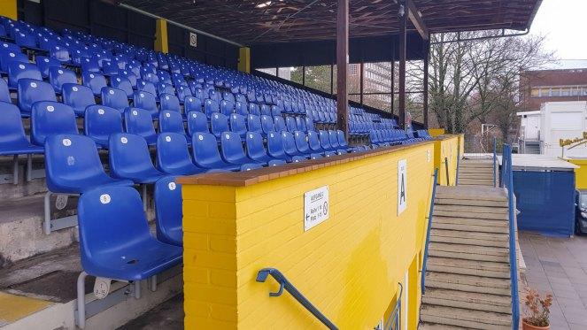 Prunkstück Haupttribühne Hoheluft Stadion