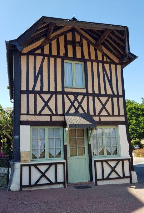 Fachwerkhaus in der Normandie.