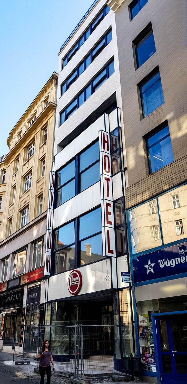 Bauhaus-Architektur in Brünn