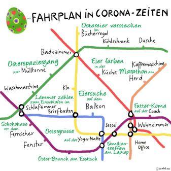 ostergrüße Hochbahn Hamburg