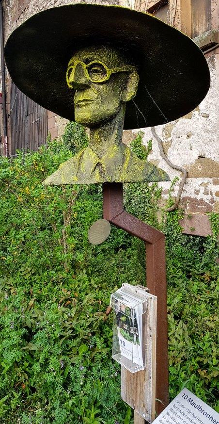 Hesse-Skulptur