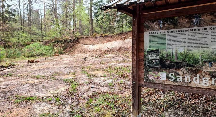 HW 5 Stubensandgrube im Kayher Wald