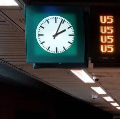Die U5 fährt alle zehn Minuten ab Hauptbahnhof.