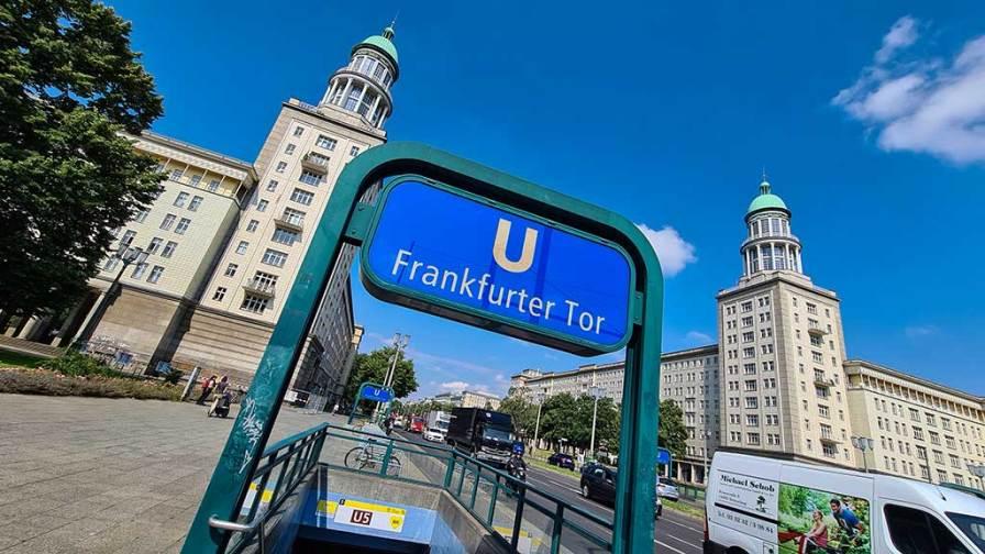 Berlin U5 Frankfurter Tor