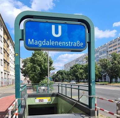 Berlin U5 Magdalenenstraße