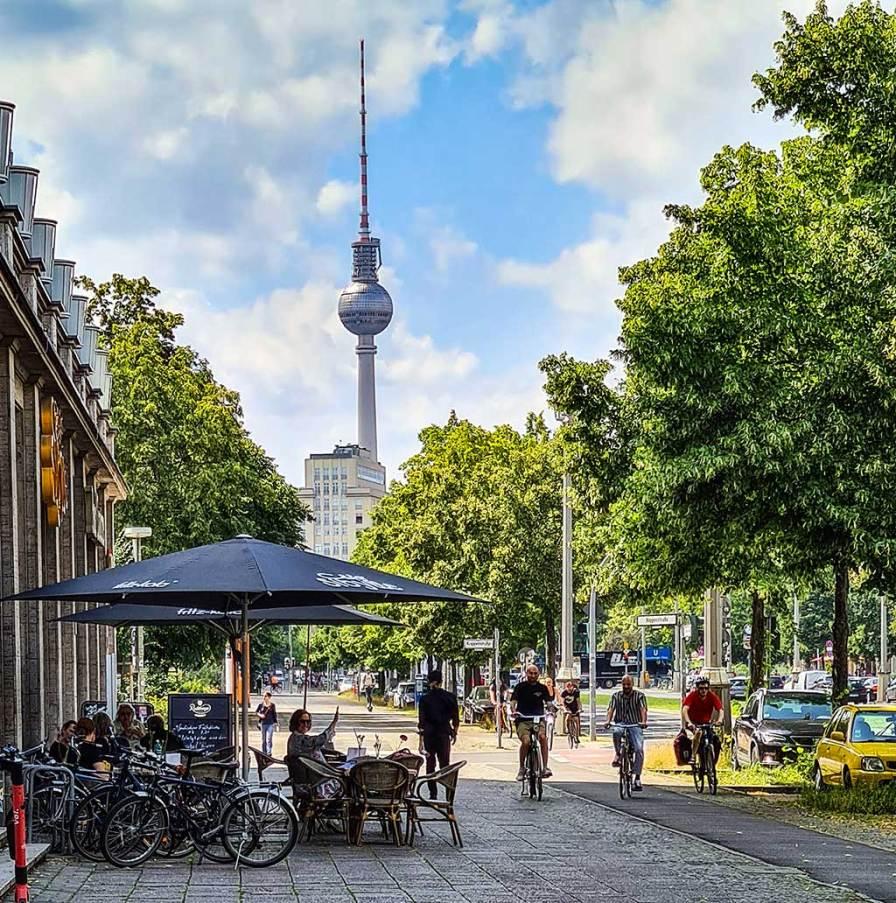 Berlin-U5, Café Sybille