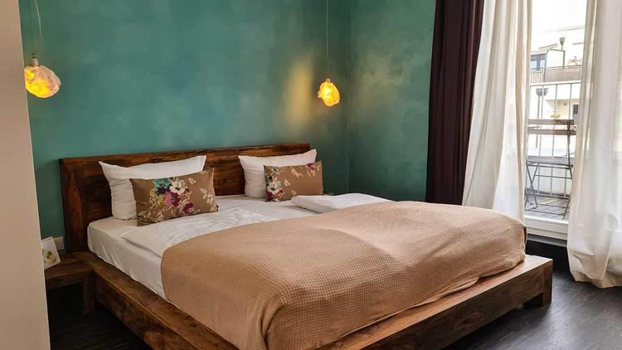 Zimmer im Aldómovar-Hotel