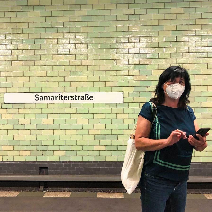 Berlin U5 Friedrichshain Samariterstraße