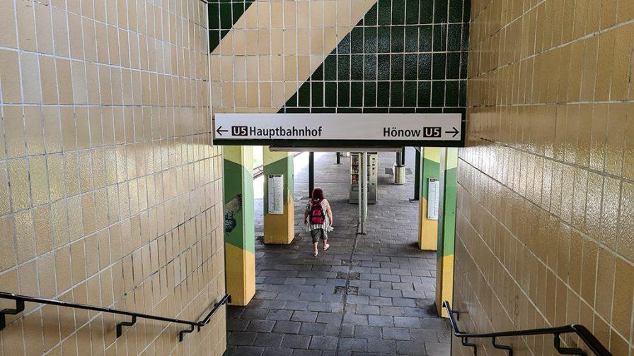 Bahnsteig Kaulsdorf-Nord