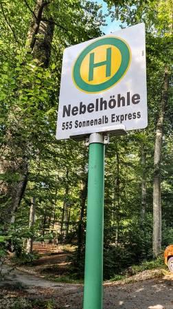An der Nebelhöhle: HW5 trifft Buslinie 555