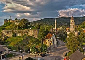 Geografski položaj Bosanske Krupe