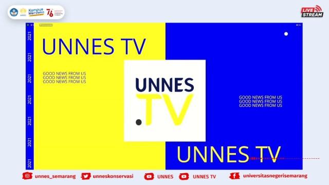 Peluncuran Unnes TV di Program Pengenalan Kampus