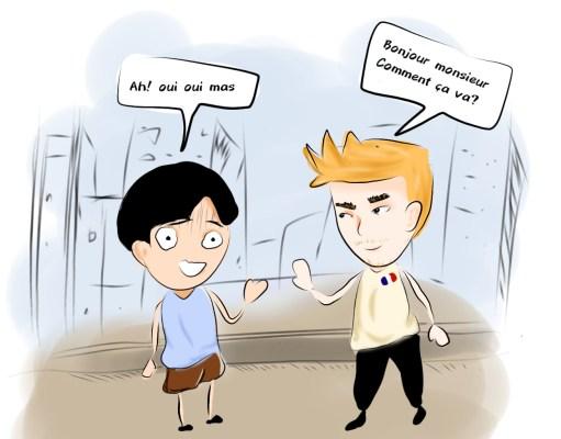 Ilustrasi Jangan Kuliah Bahasa Prancis Kalau Kamu Bingungan [BP2M/Febi]