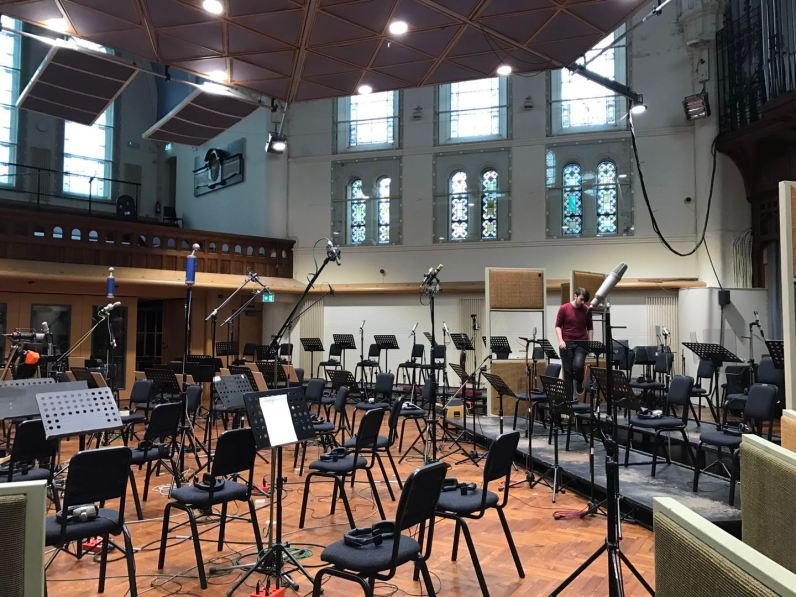 Orchestra Setup 1