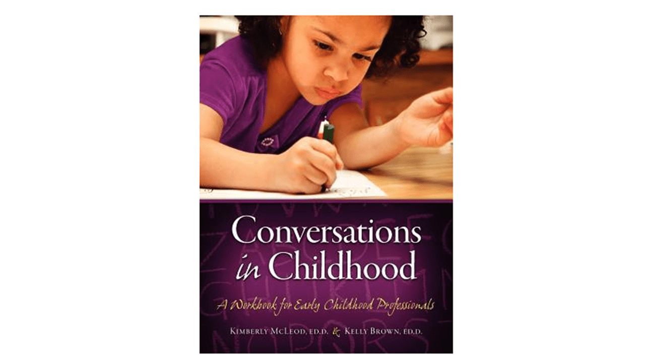 Image of featured The Link Reads book for the month of November 2020, Conversations in Childhood.