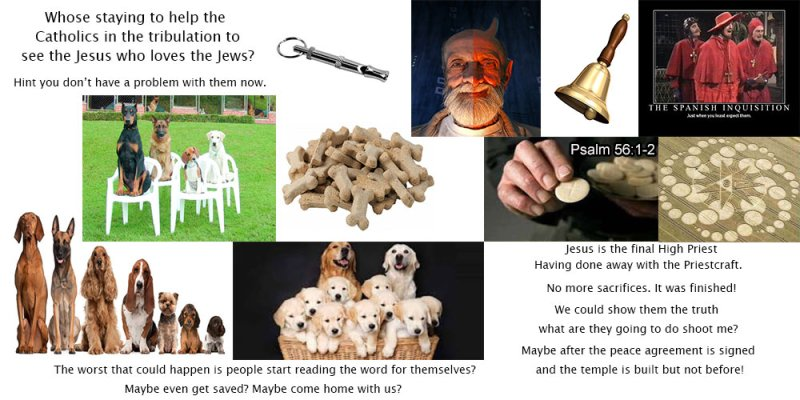 Humans breed dogs but breeding man is the job of the spirits.