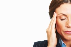 ból głowy, choroba, kobieta