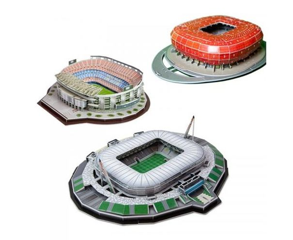 modele stadionów