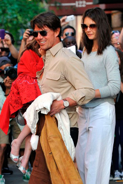 Tom Cruise wearing IWC