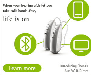 Phonak Audeo Direct Bluetooth hearing aids