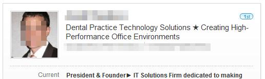 Example of a POWERFUL LinkedIn Headline