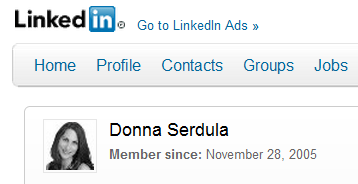 I've been a LinkedIn Member for 6 years!