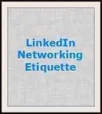 LI networking etiquette