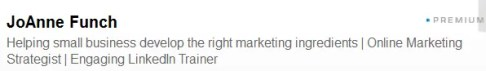 headline for LinkedIn profile