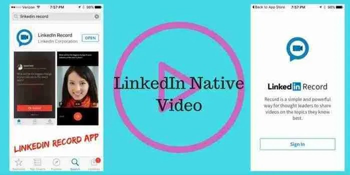LinkedIn Jumps Native Video Craze