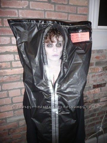 halloween, costumes, homemade, DIY, corpse