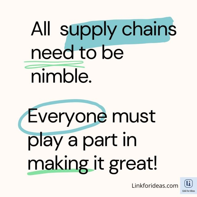 Link for ideas - Supply Chain challenges