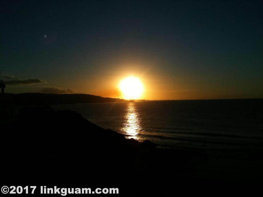 グアム 観光 夕陽 サンセット
