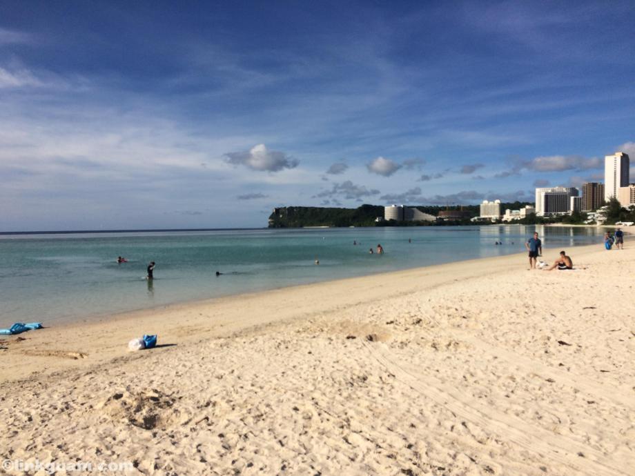 グアム マタパン matapang beach ビーチ