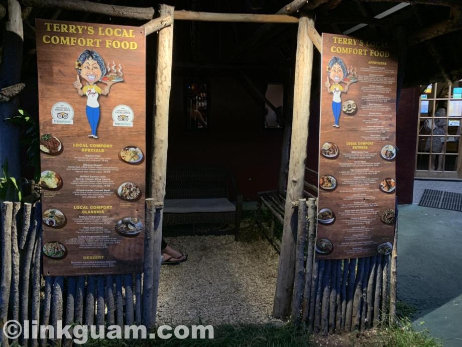 グアム レストラン チャモロ料理 テリーズ ローカル terrys local chamorro