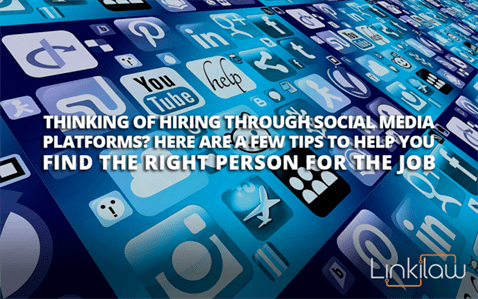 hiring through social media