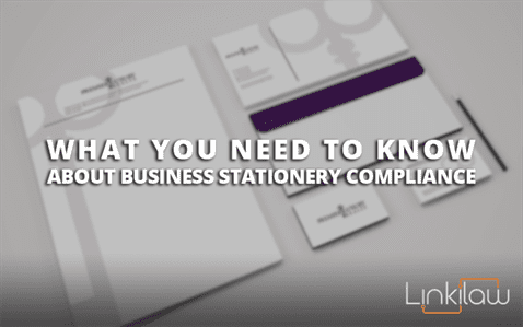 business stationery compliance