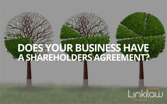 does your business have a shareholders agreement