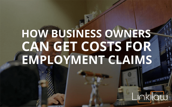 get costs for employment claims