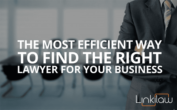 find the right lawyer for your business
