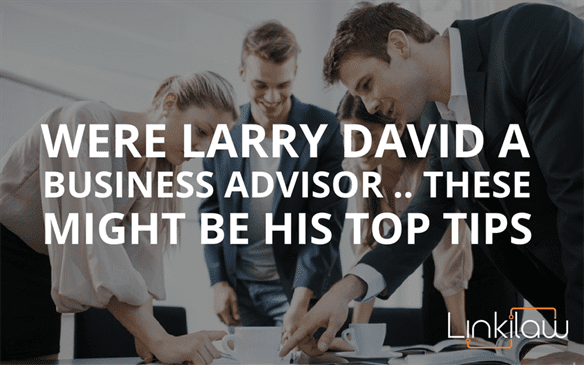 larry david a business advisor