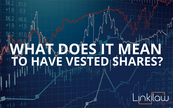 what does it mean to have vested shares?