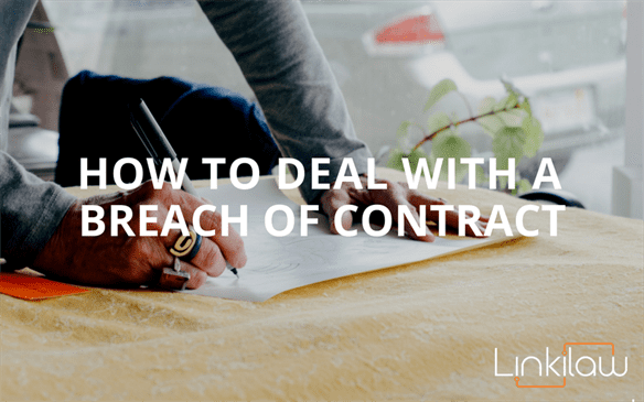 how to deal with a breach of contract