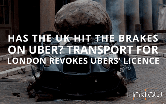 Uber loses UK licence