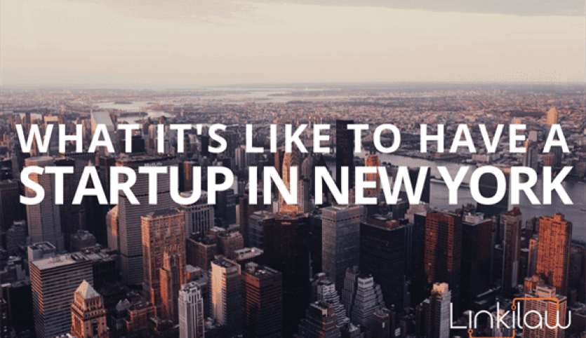 What it's like to have a startup in New York