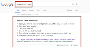 H1 Tag Tips to Improve Site's SEO