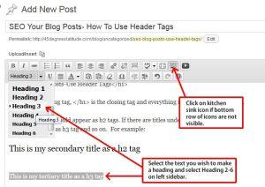 Header Tag Hacks For Business Sites