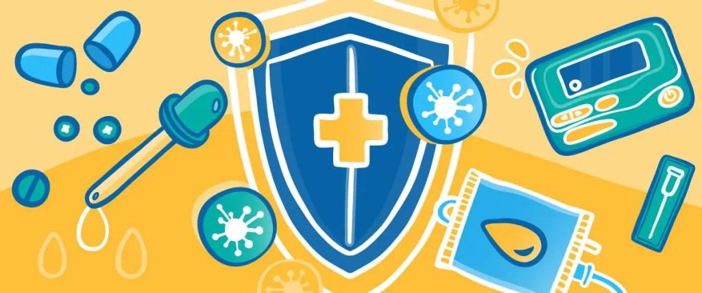 Shield against viruses
